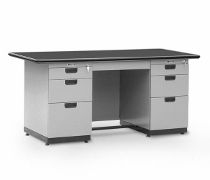Single Pedestal Desk Alba Type DP–402–L (1 Biro)