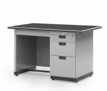 Single Pedestal Desk Alba Type SP–401–L (½ Biro)